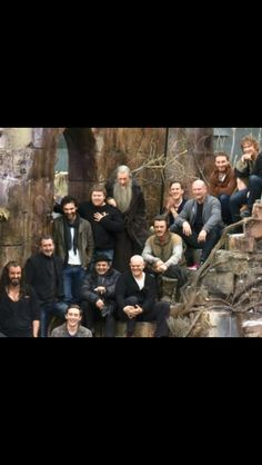 I see dwarves, a couple of wizards, the one I can call king, a man, an elf and a hobbit