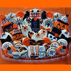 #halloweentreats#halloweencookies. Halloween Cookies