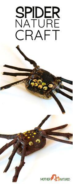 Spider Craft | Halloween spider craft
