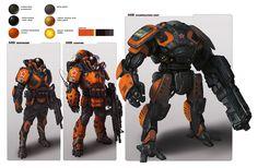 Orange Guys - Concept art, Sci-fi