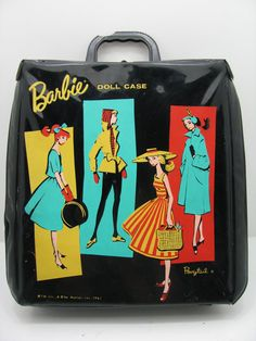 Vintage Barbie Doll Case from 1961 by RubesRelics on Etsy, $19.80