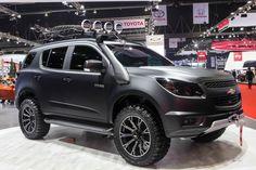 Chevrolet Trailblazer 2015 phiên bản thám hiểm.