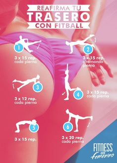 Reafirma tu trasero con fitball. Fitness en Femenino. 1 Yoga Tip For a Tiny Belly...