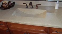 Latest Posts Under Bathroom Countertops Ideas Pinterest - One piece bathroom sink and countertop