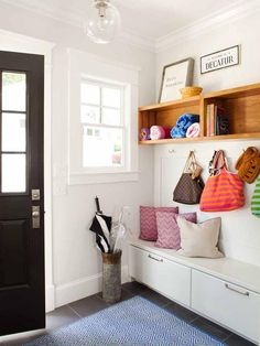 Eclectic Entryways from TerraCotta Properties on HGTV