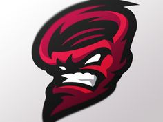 Redstorm designed by Dlanid. Connect with them on Dribbble; the global community for designers and creative professionals. Sports Decals, Esports Logo, Team Mascots, School Logo, Gaming Wallpapers, Logo Concept, Pictogram, Letter Logo, Cool Things To Make