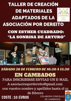 """CORES DE CAMBADOS: TALLER ORGANIZADO POLA ASOCIACIÓN """"POR DEREITO"""""""