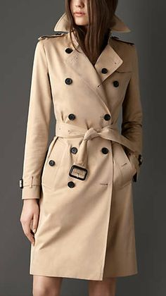 Splurge on a classic Burberry trench coat (You'll have it until you die).