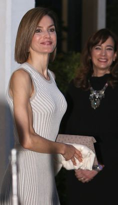 6/29/2015: King Felipe and Queen Letizia arrived in Mexico for a three day official visit.
