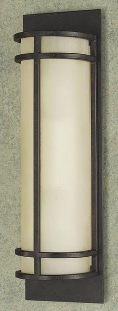 "0-002414>5""""w Fusion 2-Light Ada Compliant Wall Bracket Bronze"