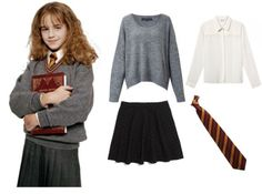 Frugal Fashionista 5 Simple DIY Costumes | Her C&us  sc 1 st  Pinterest & Hermione Granger Costume