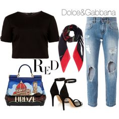 A fashion look from February 2016 featuring Ted Baker, patch jeans e black sandals. Browse and shop related looks.