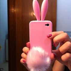 Bunny iPhone case. It would be soo cute if the tail vibrates each times you receive a message lol