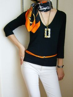 Orange and black, absolutely classic combination for Hermes. They are ...