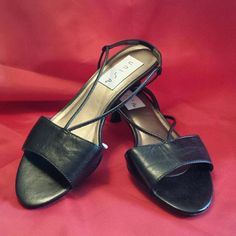 UNISA black leather sandals size 5.5 Very comfortable sandals with 1.75 inch heels. Fit true size. Worn once . Original box. Unisa Shoes Sandals