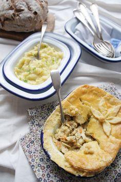 Chicken Tarragon Pie by missfoodwise #Pie #Chicken