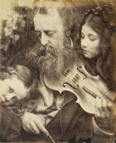 Julia Margaret CameronThe Whisper of the Muse/Portrait of G.F. Watts 1865J. Paul Getty Museum http://www.artnet.com/Magazine/news/ntm3/ntm10-1-03.asp