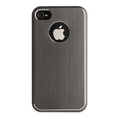 Aluminum Case for iPhone 4/4S, Gray – JNDNY