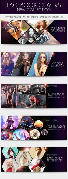 Facebook Timeline Cover New Collection Template PSD #design Download: http://graphicriver.net/item/facebook-timeline-cover-new-collection/11719458?ref=ksioks