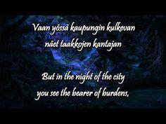 Hiljainen kaupunki w/lyrics (english, finnish) - Johanna Kurkela - YouTube