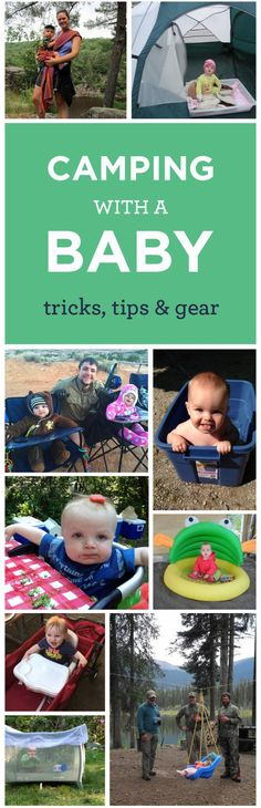 Tips For Camping With A Baby   Pregnant Chicken