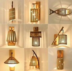 singular basics for factor to consider with intelligent items for Popular Woodworking Plans House Diy Furniture Plans, Woodworking Furniture, Woodworking Tools, Wood Furniture, Woodworking Blueprints, Intarsia Woodworking, Bamboo Light, Bamboo Lamp, Wooden Lampshade