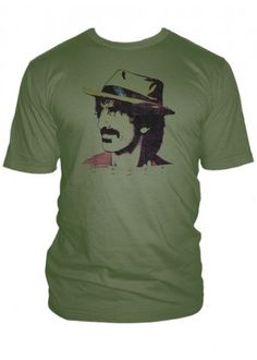 27099ce5 Worn Free - Worn by Frank Zappa, Shirts by Frank Zappa, Frank Zappa T shirt  Designs, Frank Zappa Music Shirts, Frank Zappa Music Tee