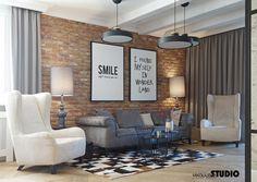 Nieziemsko przytulny i stylowy dom Studio Living, Home Living Room, Modern Interior, Interior Design, Dental Office Design, Inside Home, Home Fashion, Home Decor Furniture, Interior Inspiration
