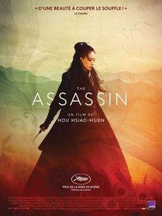 The Assassin  ( Hou Hsiao-hsien, 2015) - L'action se déroule au cours du règne de la puissante dynastie chinoise Tang où une jeune femme assassin est ordonnée d'éliminer un noble dont elle était jadis engagée.  Le film est sélectionné en compétition au Festival de Cannes 2015 où il reçoit le Prix de la mise en scène.