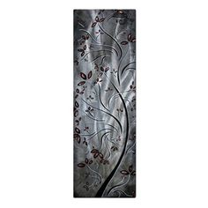 Have to have it. Metallic Blossom Metal Wall Art - 8W x 23.5H in. $59.99