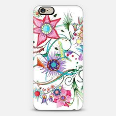 Use code SLEEP to get $6 off for your next purchase. Hurry, 48 hours only! #casetify #heaven7 #spring #discount #flowers #drawings
