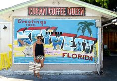 Number 1 | Stroll on over to Cuban Coffee Queen and grab an iced coffee and Cuban sandwich. I even heard they deliver!  Number 2 | Just around the corner from the Cuban Coffee Queen is this beautiful