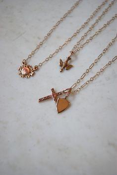 exvoto vintage jewelry rose gold