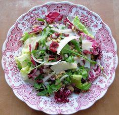 Cranberry, Pine Nut and Parmesan Salad - Christmas Salad
