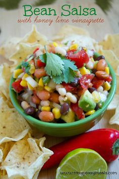 HEALTHY Bean Salsa