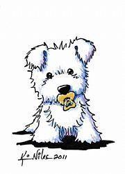 west highland white terrier dibujo - Buscar con Google