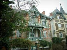 La Baule - Villas (maisons) de la station balnéaire