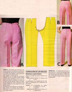 Sewing Pants, Sewing Clothes, Techniques Couture, Sewing T Sewing Pants, Sewing Clothes, Diy Clothes, Sewing School, Sewing Class, Techniques Couture, Sewing Techniques, Dress Sewing Patterns, Clothing Patterns