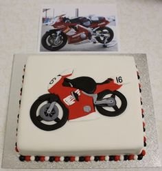 tutorial on making a motorcycle cake - Google Search