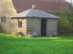 this is a milk cooler where they stored the milk they bought or got from the cows back in the day....in Cedar Lake, IN
