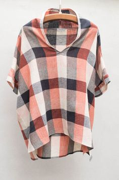 Plaid Akiko Shirt by Crippen $395 | shopheist.com