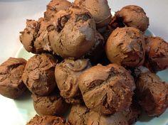 Κουλουράκια σοκολάτας Stuffed Mushrooms, Muffin, Ice Cream, Vegetables, Breakfast, Desserts, Food, Stuff Mushrooms, No Churn Ice Cream