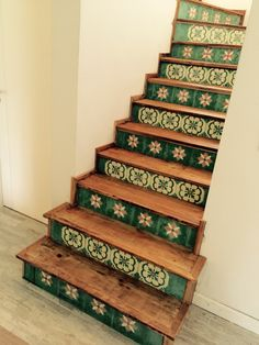 Inspiration Stairs!  #vintage