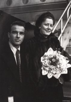 Montgomery Clift & Irene Dunne