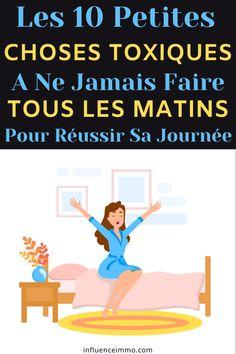 10 Mauvaises Choses A Ne Jamais Faire Tous Les Matins Miracle Morning, Attitude, Matins, Positivity, How To Plan, Hui, Images, Organiser, Ambition