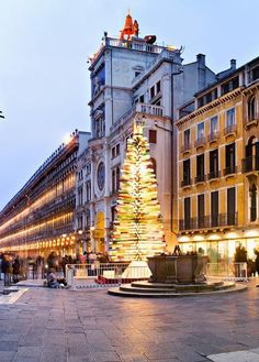 The Most Unusual Christmas Tree-| A Murano glass tree in Venice, Italy
