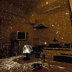 DIY Romantic Galaxy Starry Sky Projector Night Light (2xAA/USB) – USD $ 9.99