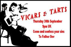 vicar and tart invite - Google Search
