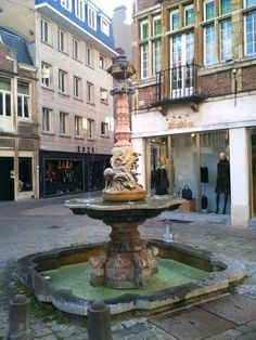 Fountain in Ghent, Belgium