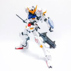 WIP : HG 1/144 ASW-G-08 Gundam Barbatos  I couldn't get hold of the items I need for my kit bash  I guess I'll just go with plan B and just equip my Barbatos with weapon units instead.  For now I am just gonna post my completed Barbatos as it is. Looks so beast! I love it   #gunpla #gundam #hobby #plamo #modelkit #anime #mecha #robot #gunplatography #gunplanerd #instagundams #barbatos #bandai